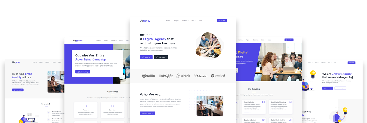 bootstrap 5 website template